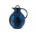 0175052094 Термос-графин Alfi Shiny azur blue transparent 1,0 L