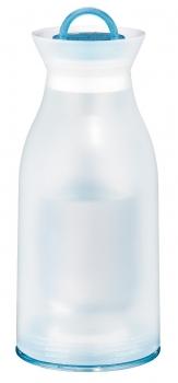 1135974075 Термос-бутылка Alfi water blue 0,75 L