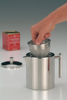 2109060040 Чайник заварочный Alfi steel with tea filter 0,6 L