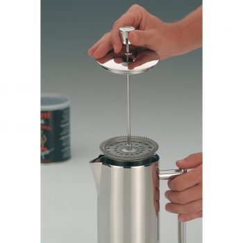 2120120040 Кофейник Alfi French Press steel 1,2 L