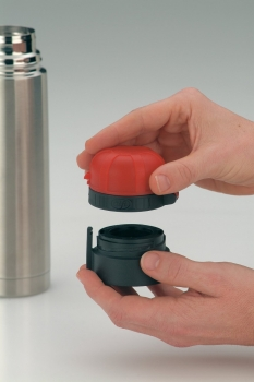 5327602035 Термос-бутылочка Alfi Lillebi Streifen pink 0,35L