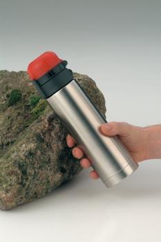 5327629035 Термос-бутылочка Alfi Flow orange/Edelstahl 0,35L
