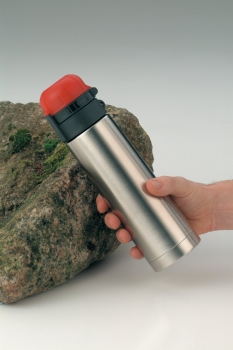 5327630050 Термос-бутылочка Alfi Flow red/Edelstahl 0,5L