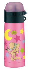 5327600035 Термос-бутылочка Alfi Lillebi Sterne pink 0,35L