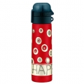 5327684050 Термос-бутылочка Alfi Be happy circles red 0,5L