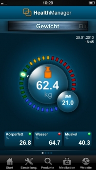 Весы Beurer BF800белые