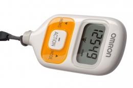 Шагомер электронный OMRON Walking style III HJ203ED оранжевый
