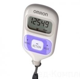 Шагомер электронный OMRON HJ-203-EV (фиолетовый)