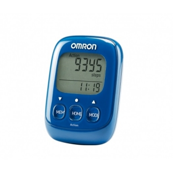 Шагомер электронный OMRON Walking style IV HJ325EB синий