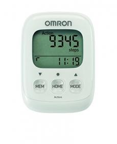 Шагомер электронный OMRON Walking style IV HJ325EW белый